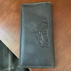 Versace Italian Leather Wallet
